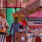 বালিঘাই কিশোরকলি ক্লাবের উদ্যোগে করোনা আবহে রক্তদান শিবিরের আয়োজন