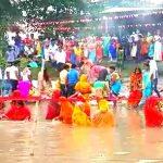 কোলাঘাটের রূপনারায়ন নদীর ঘাটে ছটপুজোর আরাধনা, পাশাপাশি চলছে পুলিশের নজরদারি