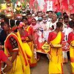 কৃষি আইনের বিরুদ্ধে পশ্চিম মেদিনীপুরে ভারত কৃষক সভার ডাকে প্রতিবাদ মিছিল