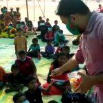Earth Care and social welfare organization -এর তরফে বনভোজন ও বস্ত্র বিতরণের আয়োজন